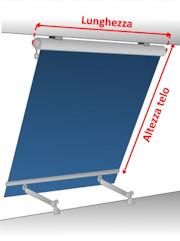 Tende Da Sole Per Esterni Tempotest.Tenda Da Sole A Caduta Tempotest 7000 Con Cassonetto E Braccetti