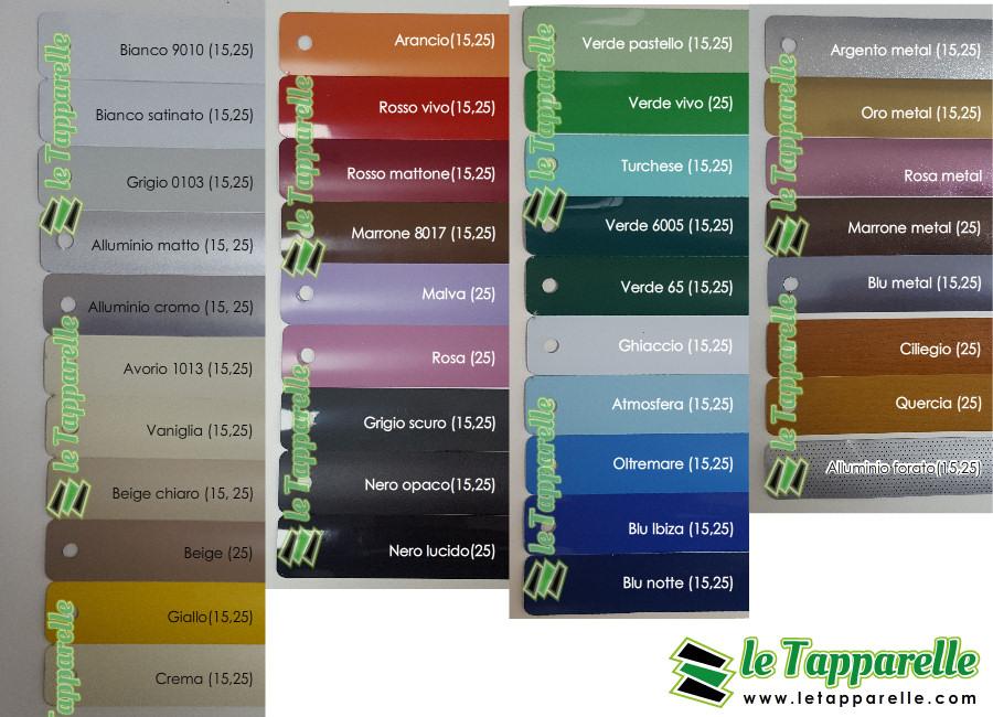 Veneziane su misura in alluminio da 25mm - Veneziane in alluminio per interni ...